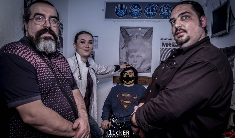klickER Escape Room: The rules are simple, and everything else is not